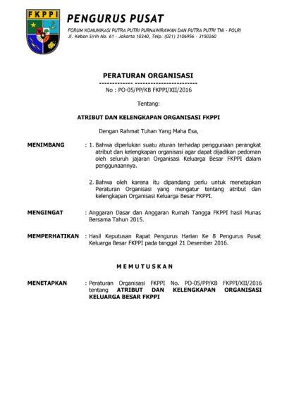 Contoh Surat Mandat Pembentukan Organisasi Contoh Surat Resmi Gratis